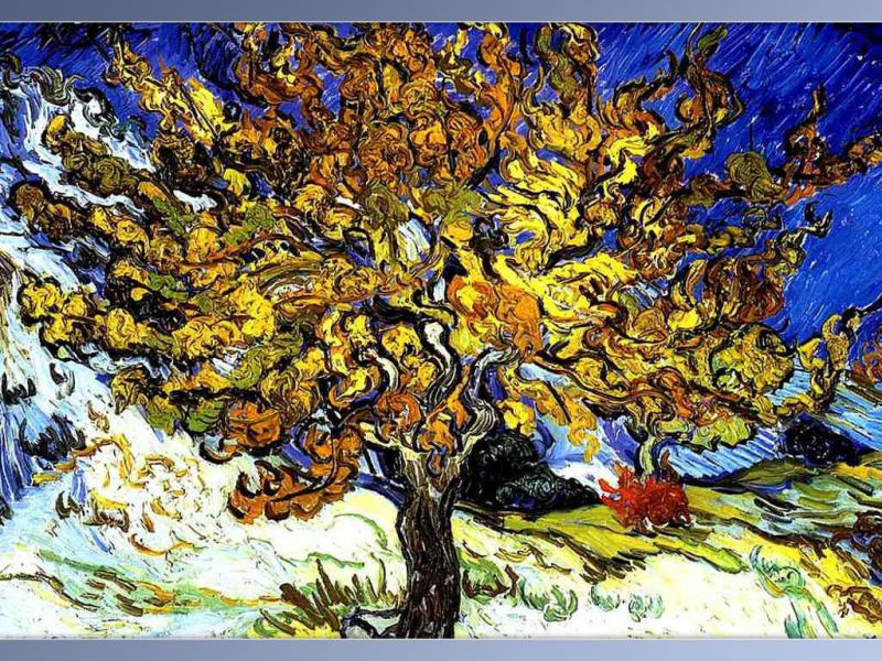 "vincent van gogh and the mulberry tree essay The mulberry tree was one of the paintings vincent selected for display at this important and biggest exhibition for him to date"" to theo van gogh saint-rémy-de-provence, wednesday, 12 february 1890."